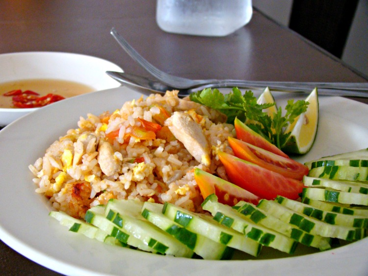 thai pad rice